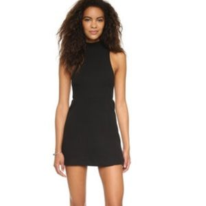 Free People Mary Jane Ribbed Fit & Flare Dress